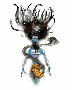 Shiva Mahakal Shiva, Shiva Art, Hindu Art, Rudra Shiva, Krishna, Angry Lord Shiva, Kali Mata, Shiva Shankar, Shiva Tattoo