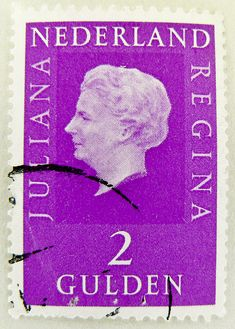 Juliana Queen of Netherland stamp 2.00 G Nederland postzegel zegels stamp Netherland Nederland Queen Juliana Regina postage 2 Gulden Niederlande Briefmarke Holland timbre selo sellos porto francobolli Pays-Bas Países Bajos Paesi Bassi by stampolina, via Flickr