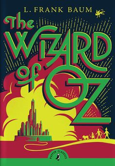 The title has multiple sizes and presents a hierarchy in and of itself, conveying the immediate important information to the viewer: there is a wizard, and he's in Oz.