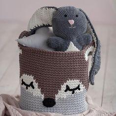 E esta #inspiração de cestão raposinha mais linda do mundo da @olli_baby?  Gente!!! ♥️