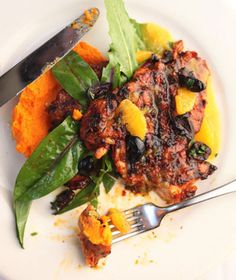 A mix of spicy, sweet, and bitter flavors gives this dish its distinctive character. The recipe comes from the Los Angeles chef Suzanne Goin, who runs the acclaimed restaurant Lucques.