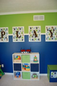 Playroom Wall Hanging Idea Diffe Fabric More Color Scheme