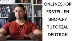 Du willst einen Onlineshop erstellen und das alles kostengünstig und in 20 Minuten dann sieh dir mein Shopify Tutorial deutsch an - JETZT ANSEHEN!