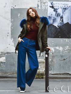 Lee Sung Kyung for CeCi Magazine Oct '15 Issue