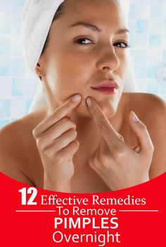 Health Matters: 12 Effective Remedies To Remove Pimples Overnight