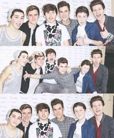 connor franta ricky dillon sam pottorff jc caylen trevor moran kian lawley o2l oursecondlife