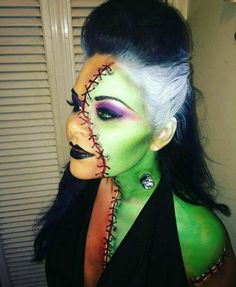 Frankenstein's Bride SFX Makeup and Hair