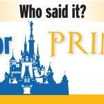 Who said it, Prophet or Princess? Fun FHE or Sunday activity for kids!