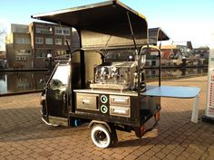 Piaggio Ape koffie