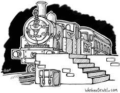 Steam train, made for roleplaying campain. Watkanjewel.com