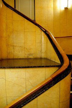 Art Deco staircase