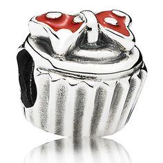 Minnie Mouse ''Minnie Cupcake'' Charm by PANDORA