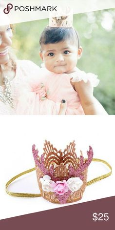 Deer Lace Flower Crown - Pink x Coming Soon x Check Closet for more & Bundle. x New x UNBRANDED-Listed for exposure x Use offer button Koala Kids Accessories Hats