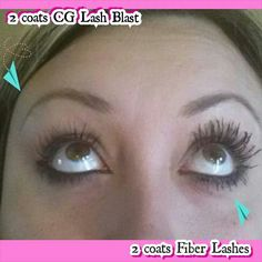 Mascara comparison! Guess who wins??? Get your Younique 3D Fiber Lash Mascara for only $29 at www.youniquebycarvermom.com #beyounique #bebeautiful #3dlashes