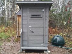 Building An Outhouse, Tall Cabinet Storage, Shed, Outdoor Structures, Furniture, Home Decor, Decoration Home, Room Decor, Home Furnishings