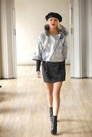 Love this silver jacket by designer Stacy Lomman.