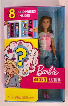 Barbie Surprise Careers w/ Doll & Access on Mercari Women Boxing, You Can Be Anything, Inspiring Women, Barbie Dolls, Career, Toys, Clothing, Outfits, Accessories