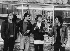 The Replacements in Hoboken, New Jersey, April 1983.