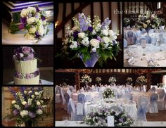 pretty place wedding and reception | great Fosters wedding reception flowers & St Judes wedding ceremony ...