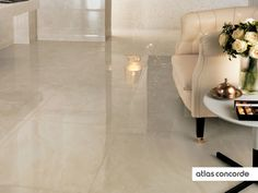 #MARVEL champagne | #Floor design | #AtlasConcorde | #Tiles | #Ceramic | #PorcelainTiles