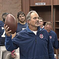 Coach Chuck Pagano... Who will get the first game ball of the 2015 season?