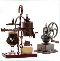 Borosilicate Glass Syphon Coffee Maker Coffee Grinder