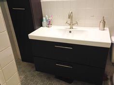 Ikea Godmorgon bathroom.