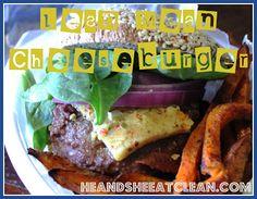 Lean Mean Cheeseburger