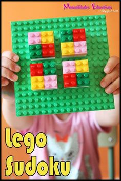 LEGO Sudoku puzzles. Great math challenge or extension activity.