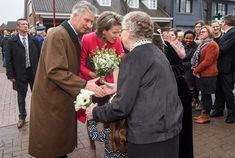 21-12-2017 Queen Mathilde and King Philippe visited Perrekes House