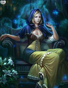 Artist: Unknown - Title: Unknown - Card: Caldina, Ghouls' Friend