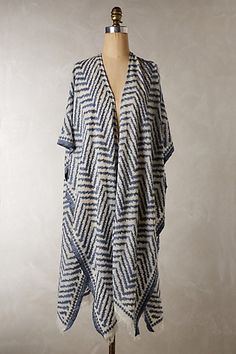 Sandy Ridge Kimono Scarf #anthropologie