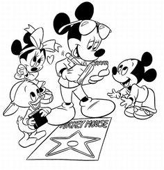 Dibujos Para Colorear De Mickey Disney Coloring Coloring Pages