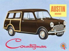 Austin Mini Countryman Woody 1961.