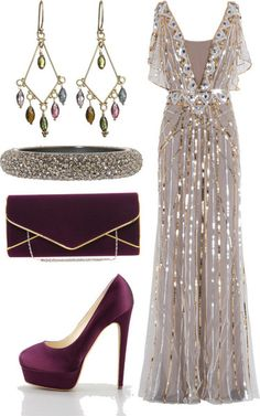 What I'd Wear: Blue and Copper Fall Wedding Extravaganza! - A Sparkly Life for Me