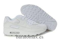 92a230a5ba Cheap Nike Roshe Run Women USA Sale,Nike running Shoes outlet! Nike Air Max  90 Womens All White [WomensAirMax -