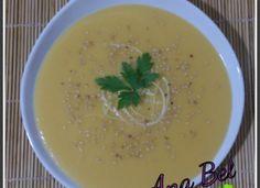 Crema de calabaza con toque de jengibre y sesamo para #Mycook http://www.mycook.es/cocina/receta/crema-de-calabaza-con-toque-de-jengibre-y-sesamo