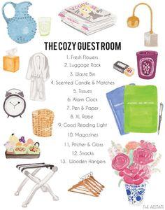 Guest Room Checklist