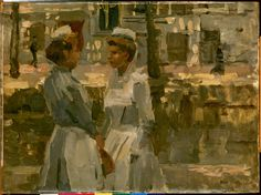 Amsterdam girls (Amsterdamse meiden). By Isaac Israels.