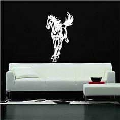 Wall Stickers - Horse Decorative Wall Sticker (0565 -gz1699)