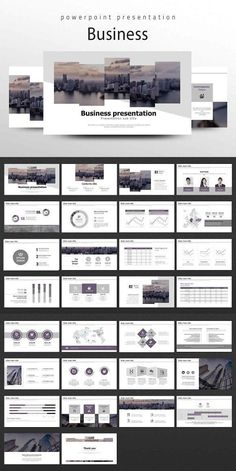 About 'Business Presentation' This 'Business Presentation' gives simple and luxurious images with violet and grey colors used. Design elements used on the slide Layout Design, Ppt Design, Slide Design, Brochure Design, Booklet Design, Design Posters, Graphic Design, Company Presentation, Business Presentation Templates