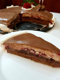 Cookbook Recipes, Dessert Recipes, Cooking Recipes, Desserts, Greek Sweets, Greek Recipes, Chocolate Cake, Cheesecake, Food And Drink