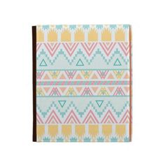 Andes Aztec Green Pink Girly Pattern iPad Cases
