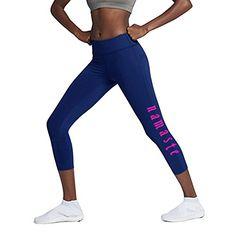 f893b85fda9bd Workout Women's Leggings - Tummy Cortol Active Compression Capris Tights  for Yoga, Running, Fitness