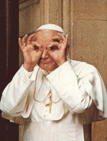 """""""No tengas miedo. No se conforme con la mediocridad. Boga mar adentro, y echad vuestras redes para pescar."""" - Beato Juan Pablo II"""