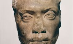 Bust of Memnon: one of the only few images of black people from Greek antiquity