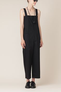 Y's-by-Yohji-Yamamoto-High Waist Suspender Pant-Totokaelo-We-are-the-Market