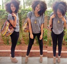 Devin... shoes, outfit, hair, bag. ♡♥♡