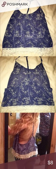 Forever 21 top size large Silky top! Forever 21 Tops Tank Tops