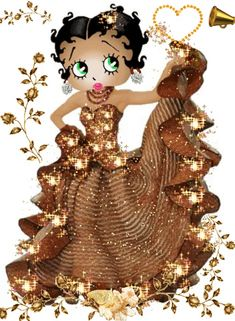 Discover & share this Betty Boop GIF with everyone you know. GIPHY is how you search, share, discover, and create GIFs. Pin Up Pictures, Betty Boop Pictures, Beautiful Gif, My Black Is Beautiful, Black Girl Art, Art Girl, Imagenes Betty Boop, Gifs Lindos, Black Betty Boop